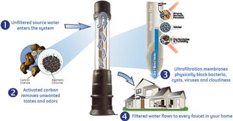 Elma Water Technologies Canada Zenon Ultrafiltration Nsf
